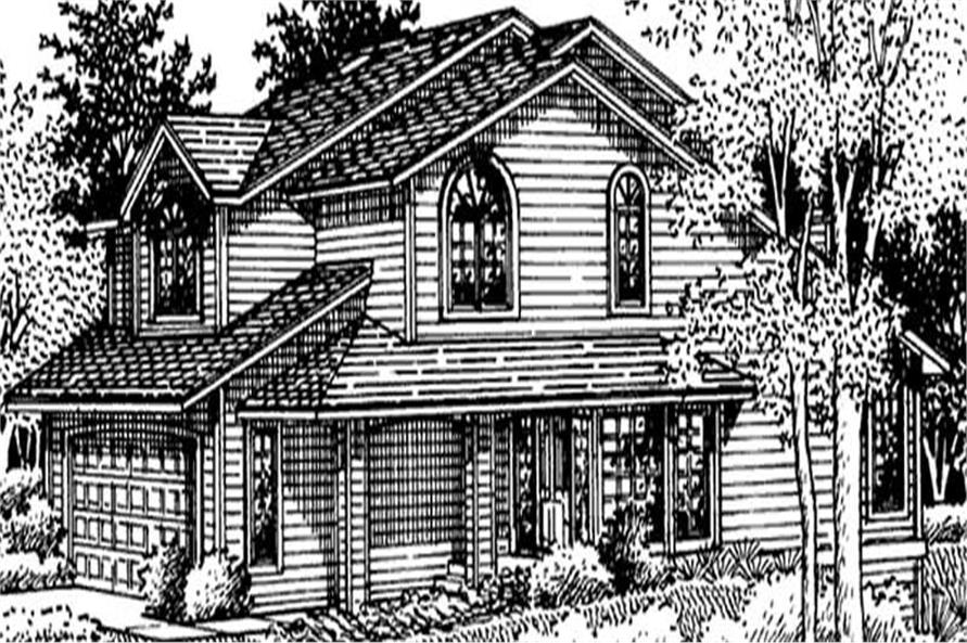 Main image for house plan # 20980