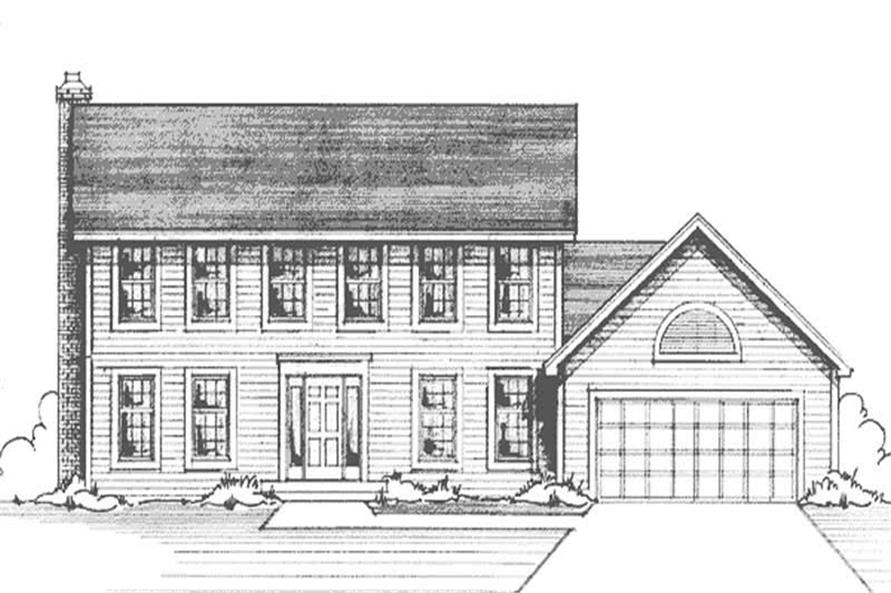 Main image for house plan # 20964