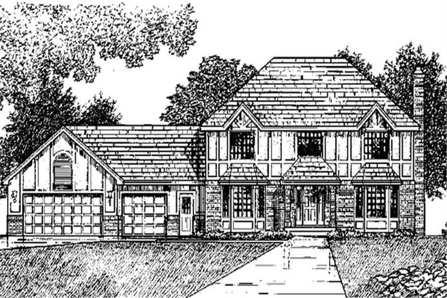 Main image for house plan # 20959