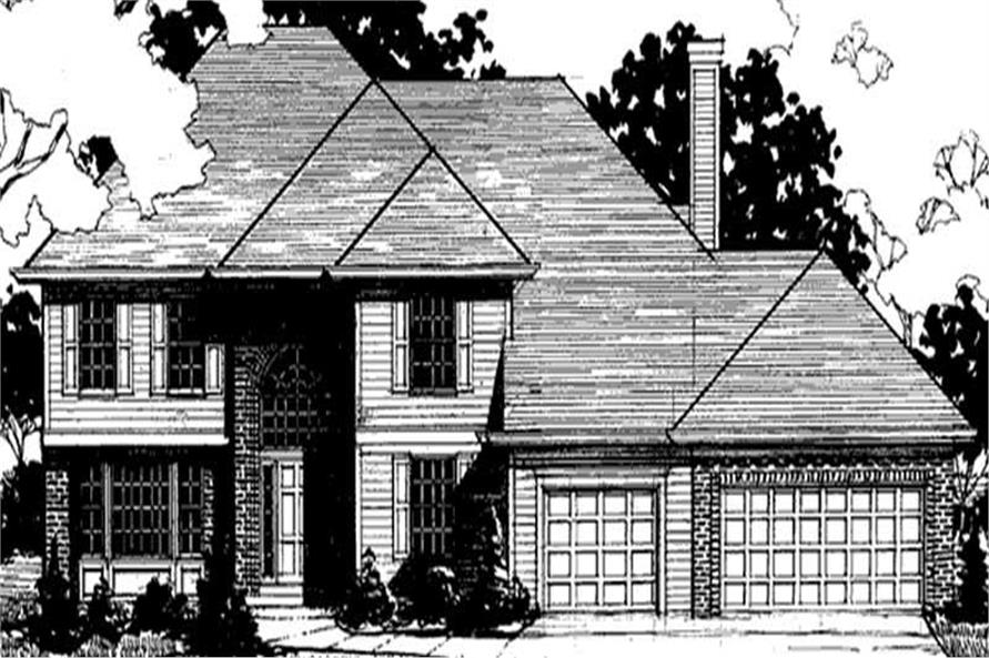 Main image for house plan # 20898