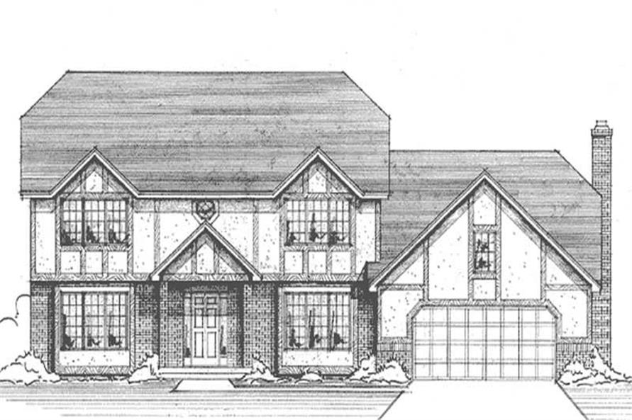 Main image for house plan # 21170