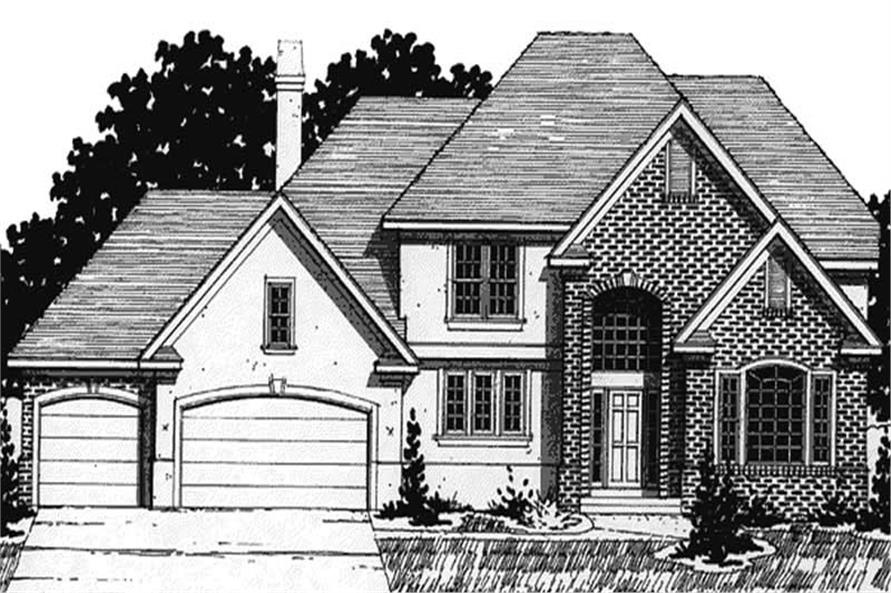 Main image for house plan # 20909