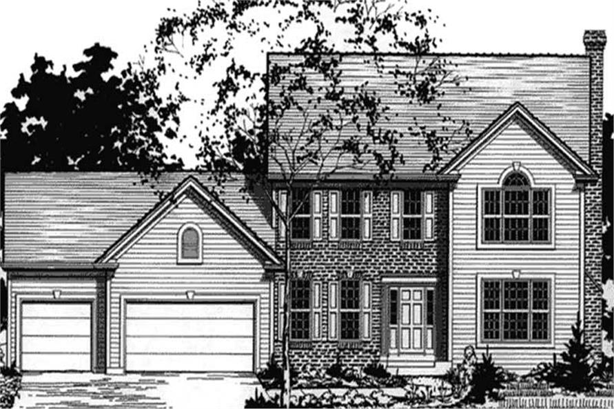 Main image for house plan # 20912