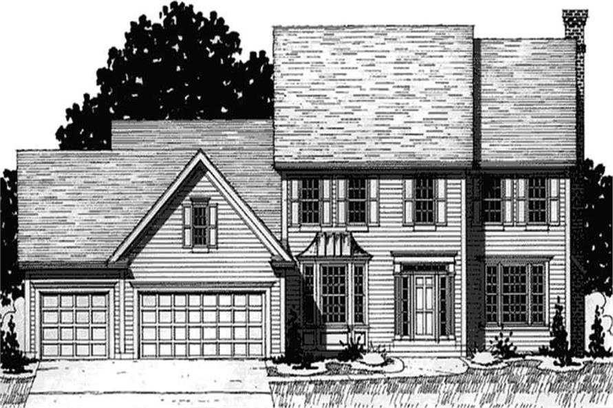 Main image for house plan # 20901