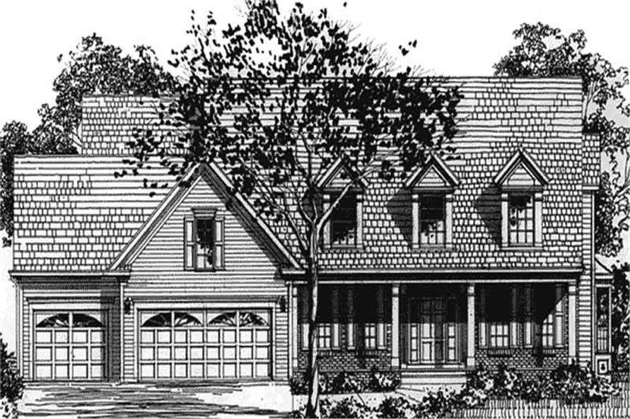 Main image for house plan # 20913