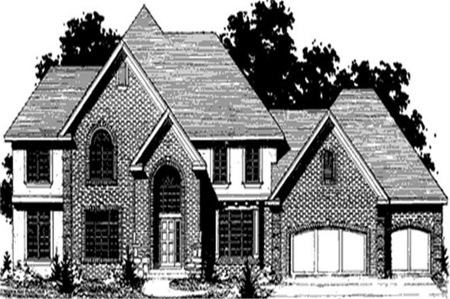 Main image for house plan # 20897