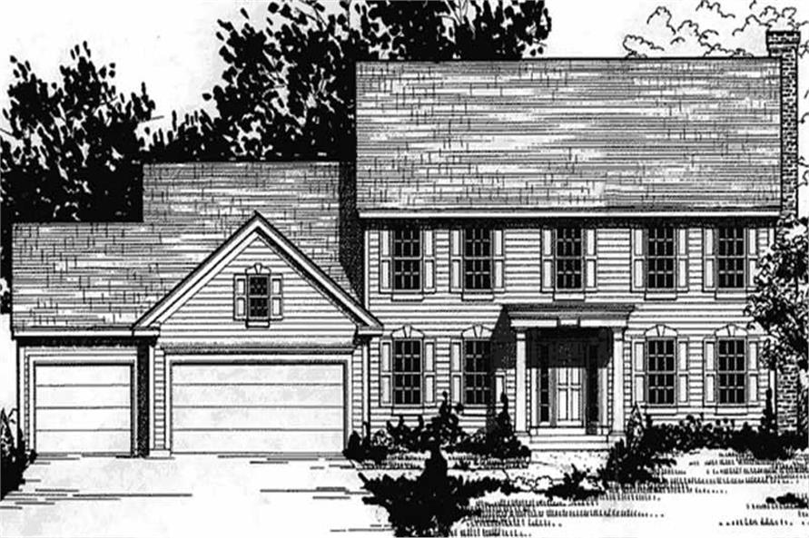 Main image for house plan # 20894