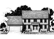 Main image for house plan # 20892