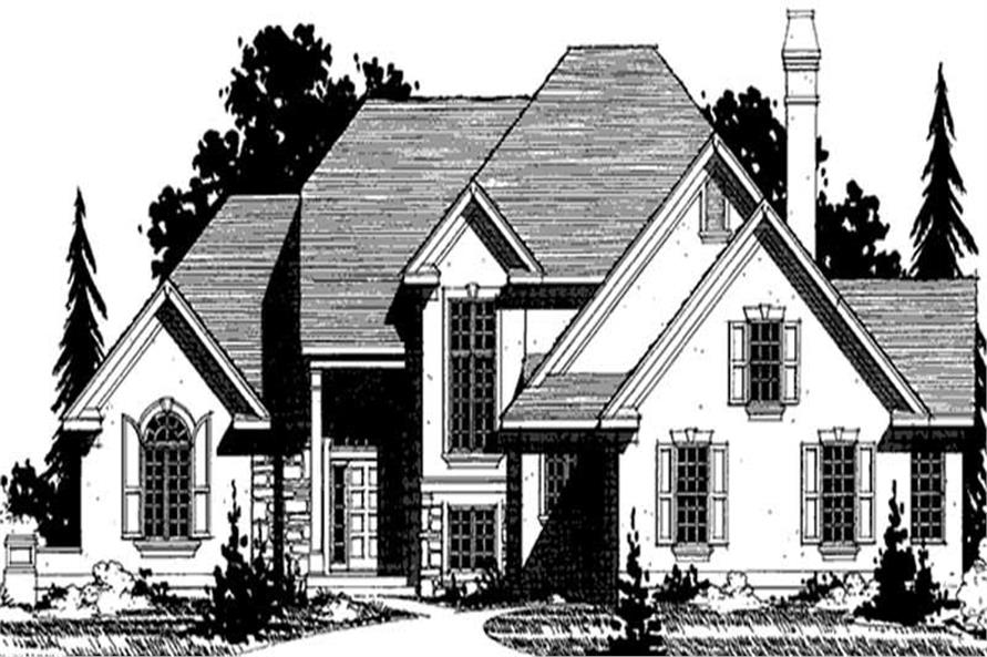 Main image for house plan # 20931