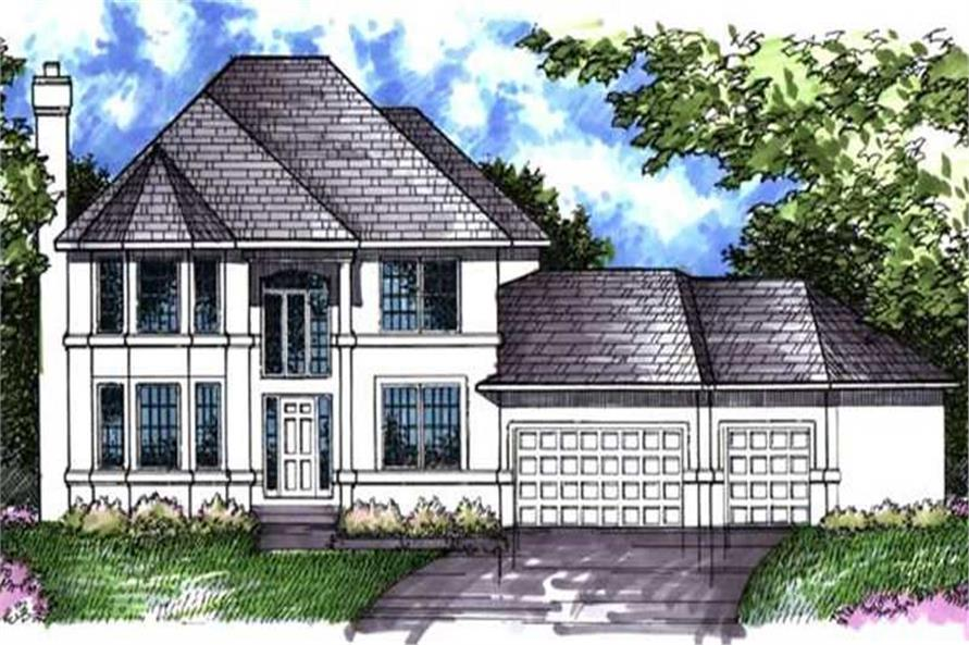 Main image for house plan # 21066