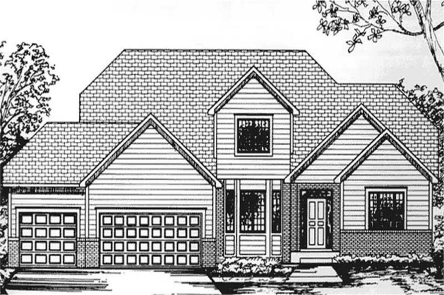 Main image for house plan # 20812