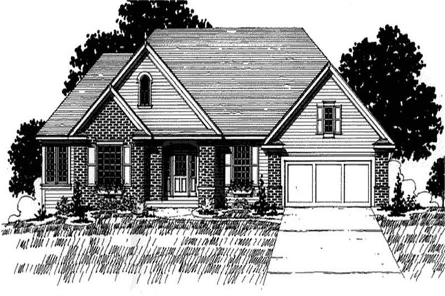 Main image for house plan # 20932