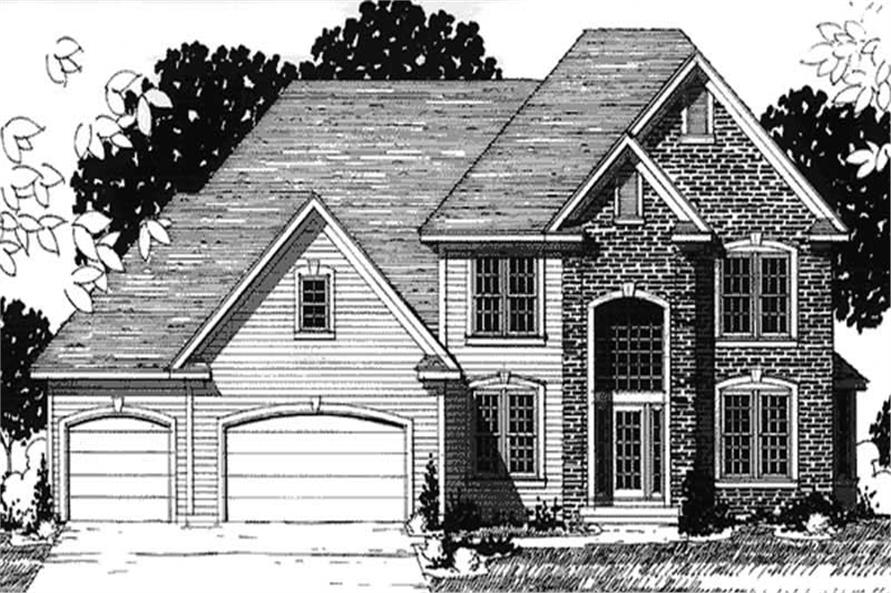 Main image for house plan # 20919