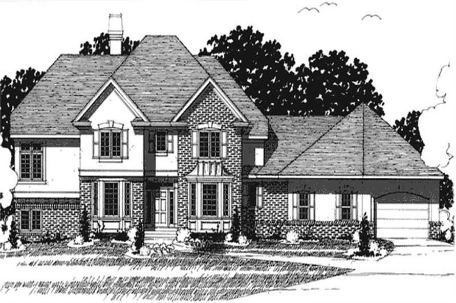Main image for house plan # 20916