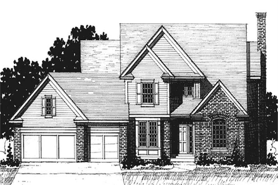 Main image for house plan # 20933