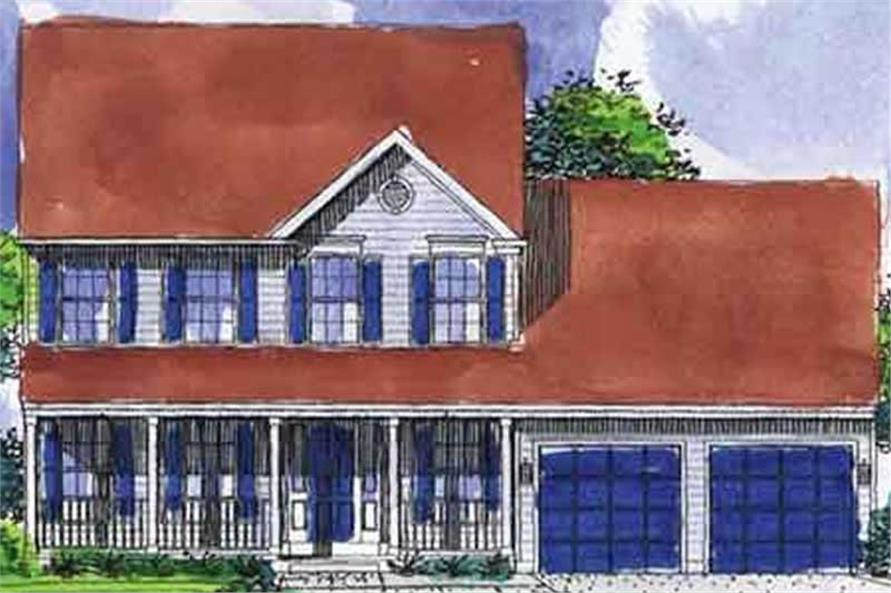 Main image for house plan # 21029
