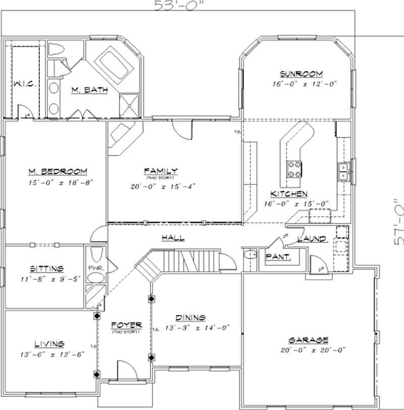 Georgian Colonial European House Plans Home Design Ls