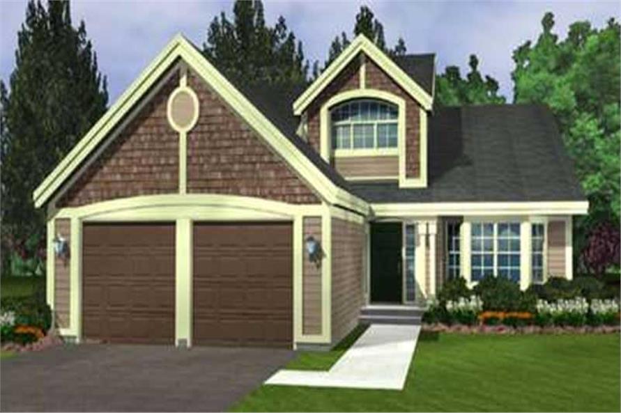 2-Bedroom, 4022 Sq Ft Cape Cod Home Plan - 146-2226 - Main Exterior