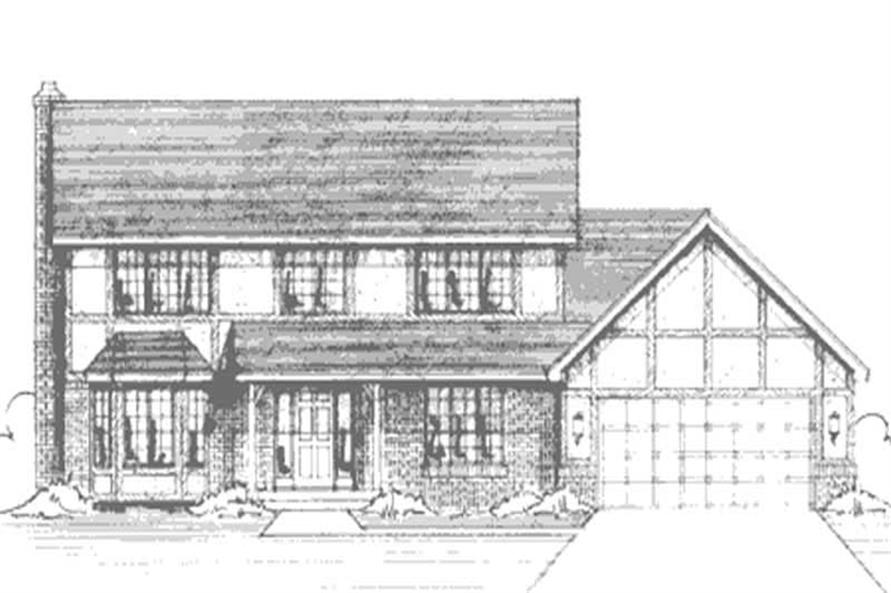 Main image for house plan # 20978