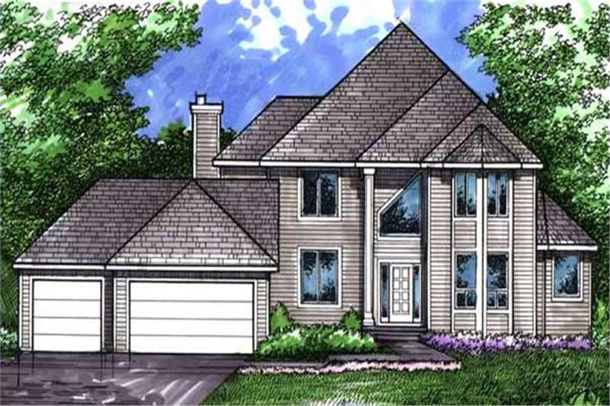 Main image for house plan # 21063
