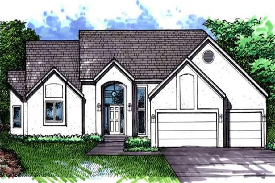 Main image for house plan # 21060