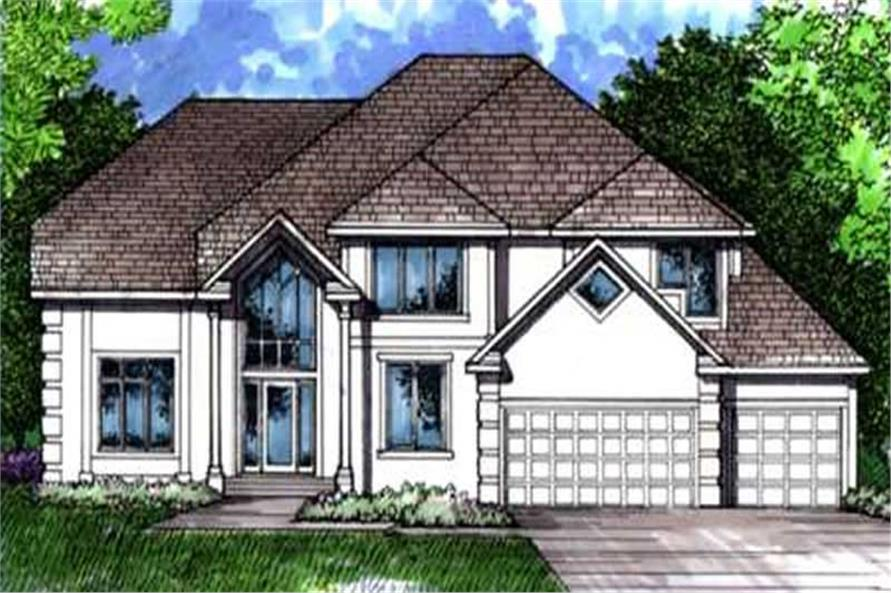 Main image for house plan # 21059