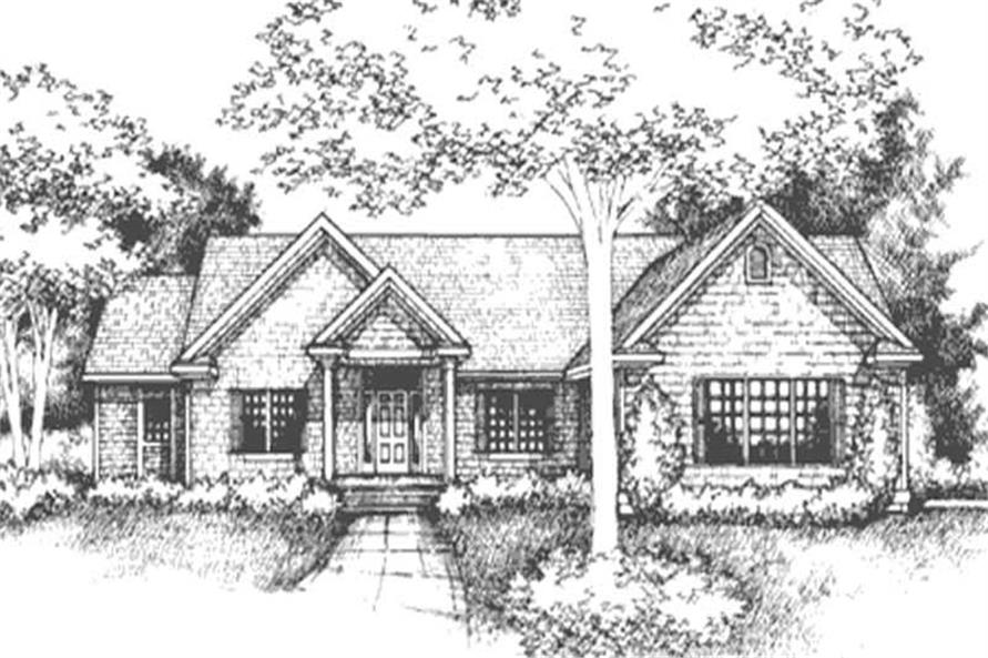 Main image for house plan # 21057
