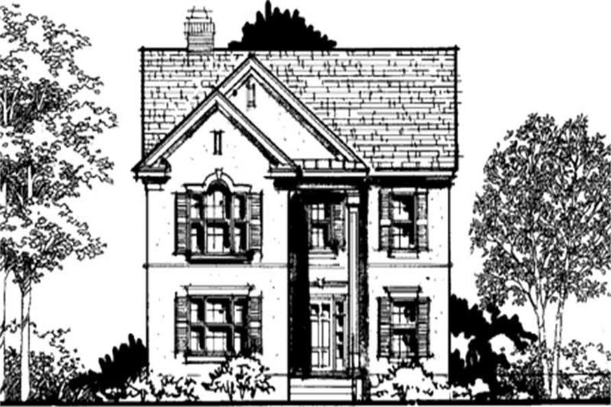 Main image for house plan # 21050