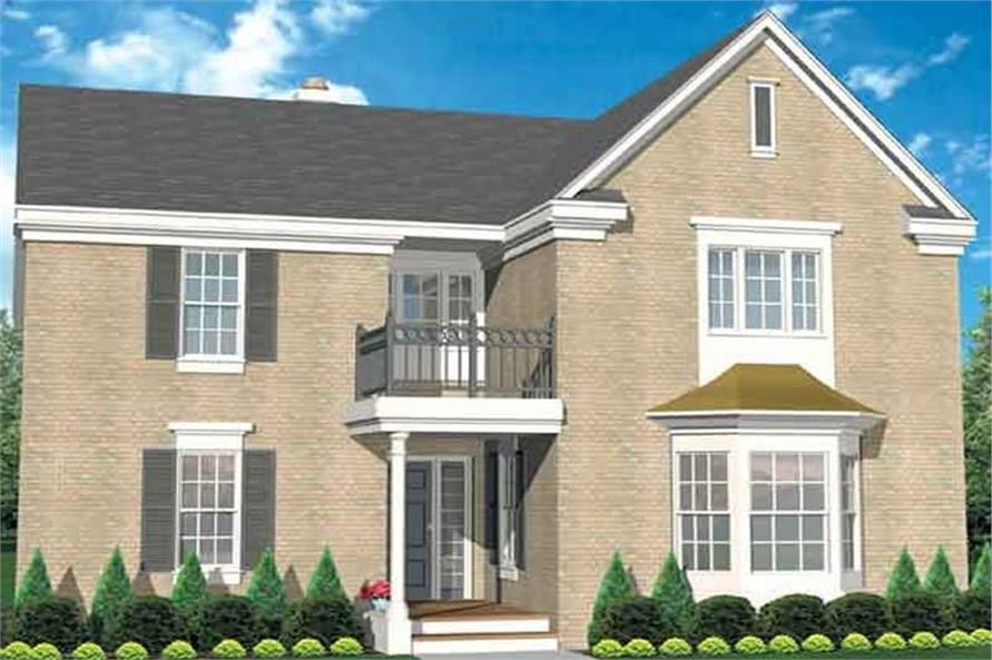 Main image for house plan # 21047