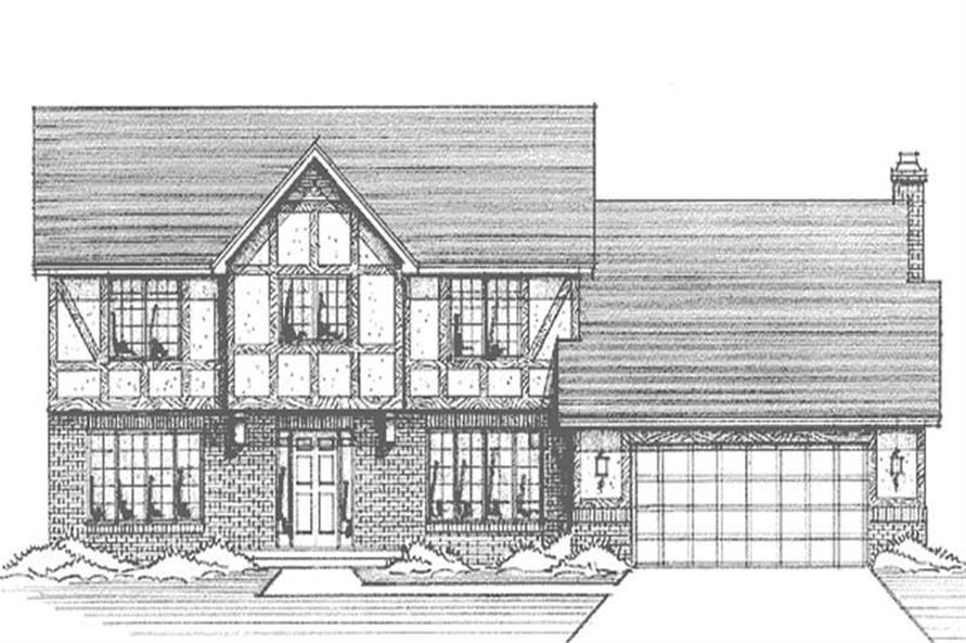 Main image for house plan # 21169