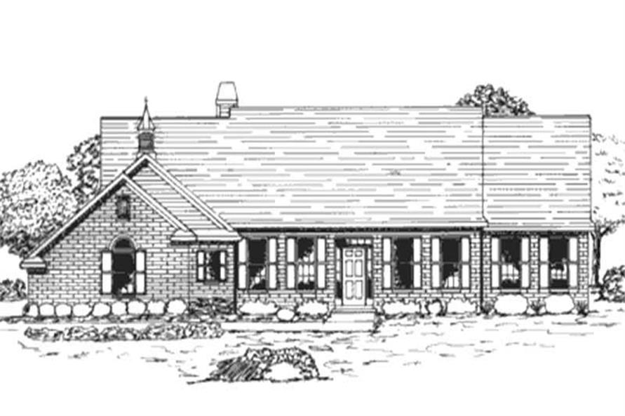 Main image for house plan # 21013