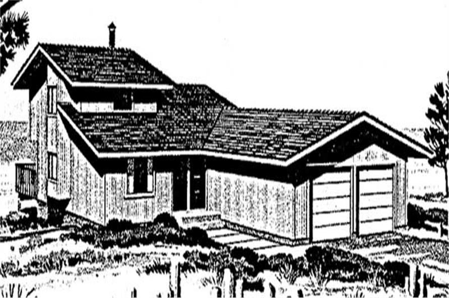 Main image for house plan # 20996