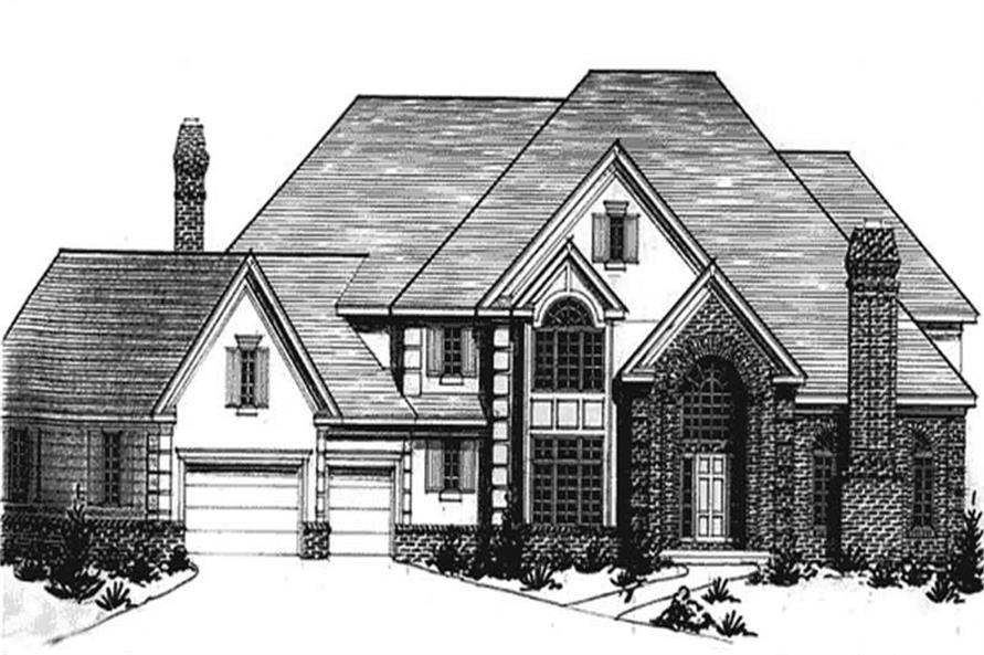 Main image for house plan # 20942
