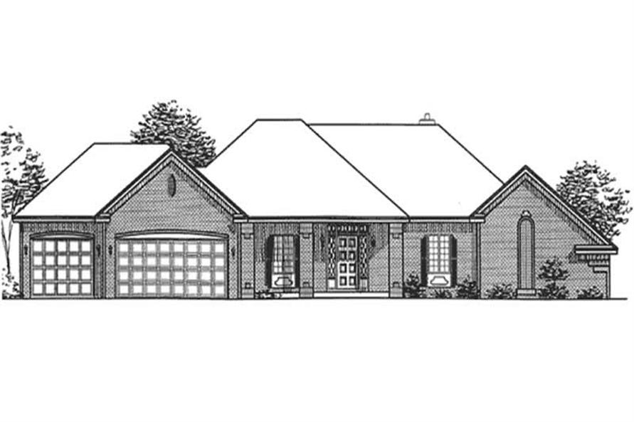 Main image for house plan # 20855