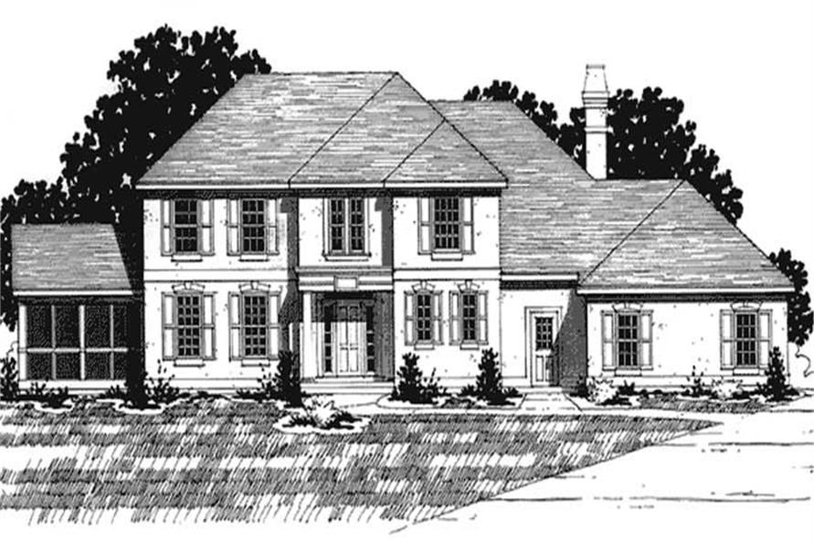 Main image for house plan # 20918