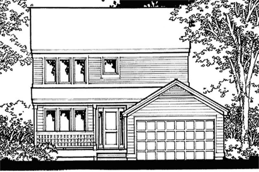 Main image for house plan # 20880
