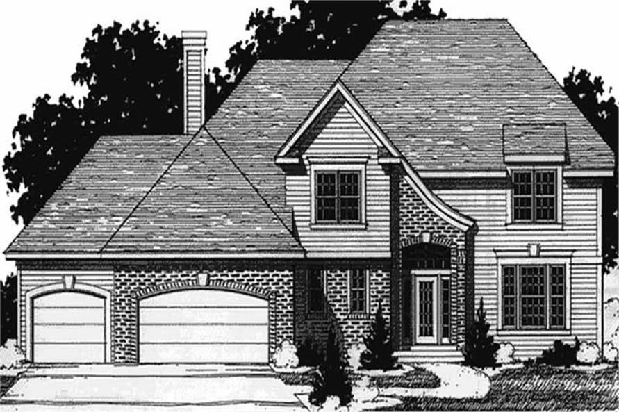 Main image for house plan # 20911