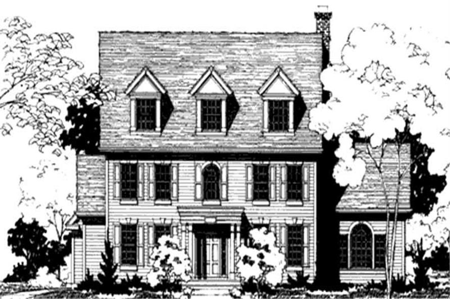 Main image for house plan # 20893