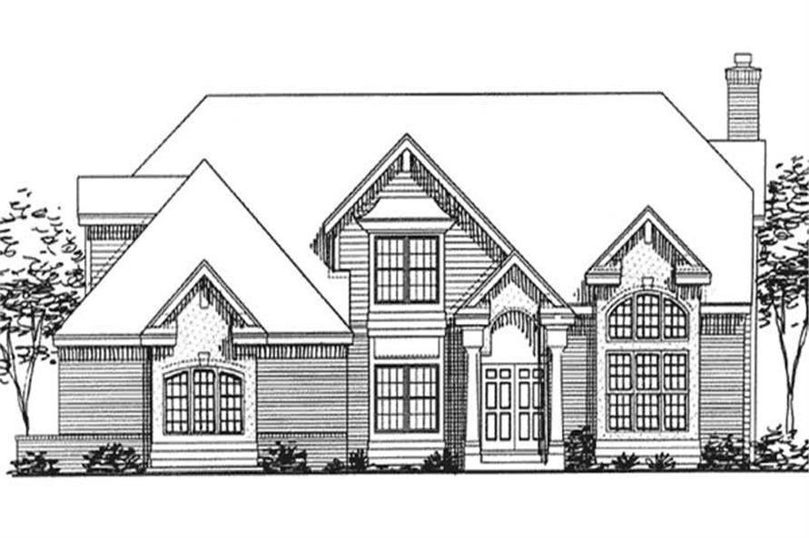 Main image for house plan # 20691
