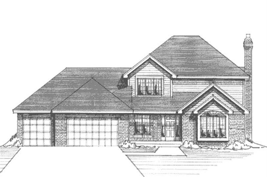 Main image for house plan # 20984