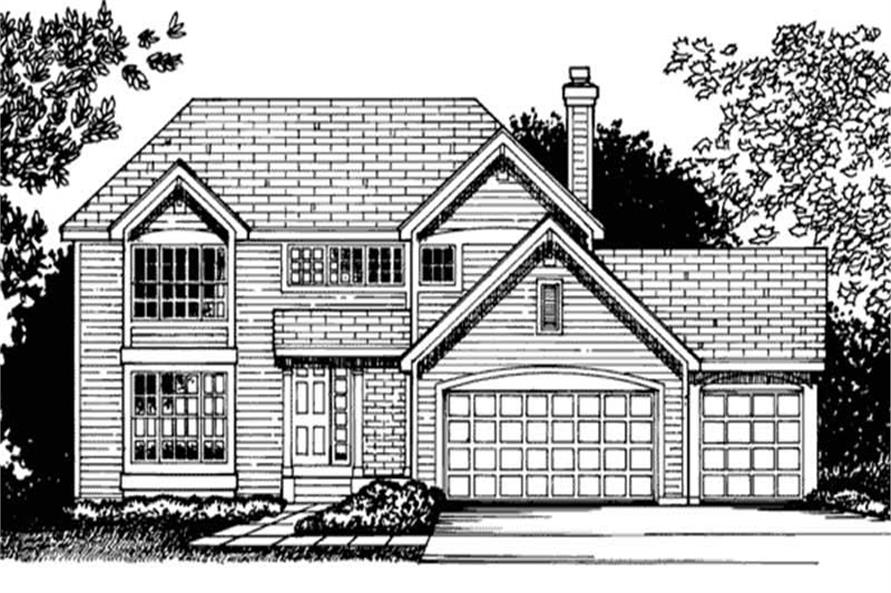 Main image for house plan # 20705