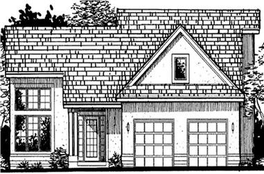 3-Bedroom, 2286 Sq Ft Country House Plan - 146-2300 - Front Exterior