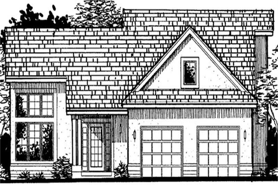 Main image for house plan # 20699