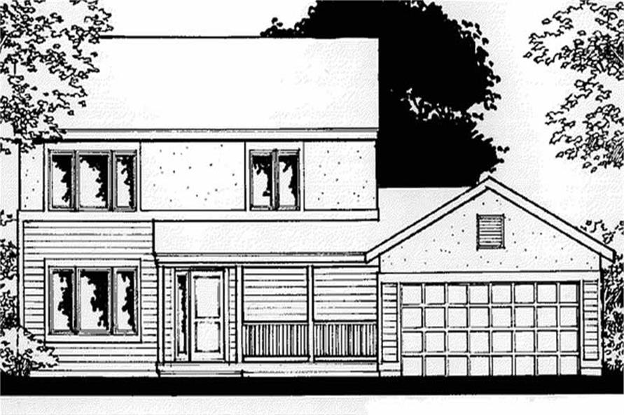 Main image for house plan # 20879