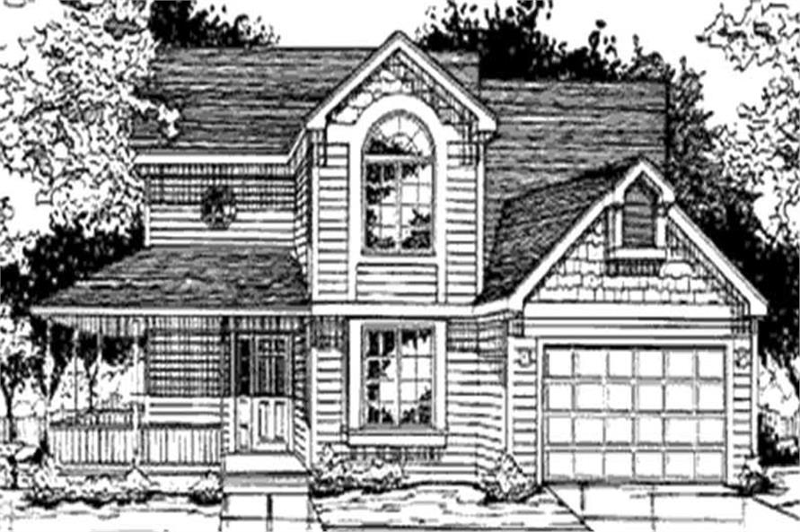 Main image for house plan # 21290
