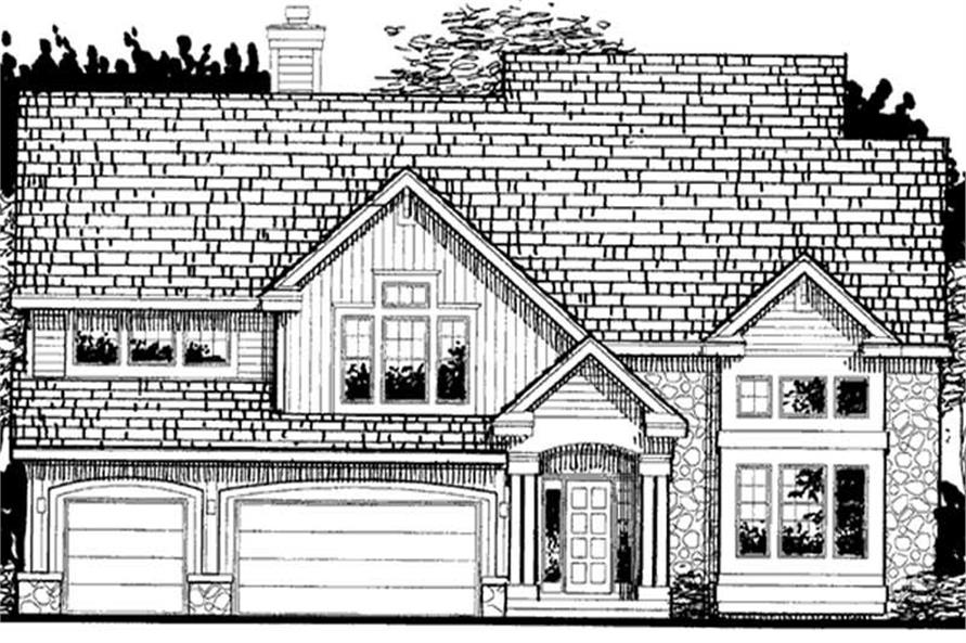 Main image for house plan # 20690