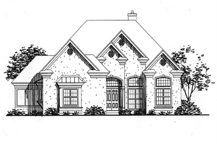 Main image for house plan # 20701