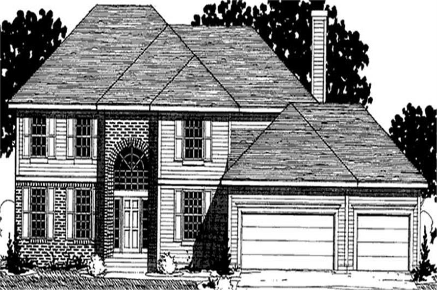 Main image for house plan # 20928