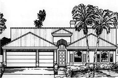 Main image for house plan # 20755