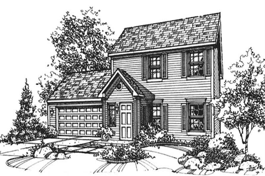 Main image for house plan # 21363